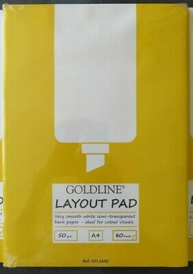 Clairefontaine Goldline A4 Layout Pad