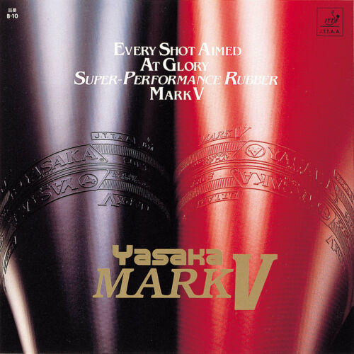 38,90//NEU//OVP Yasaka Mark V//Table Tennis Rubber//RRP