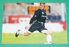 PHOTO UNFP FOOT 2000 SC MONTPELLIER HERAULT FLUCKINGER FOOTBALL 1999-2000 PANINI