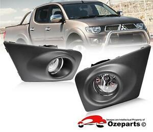 Full-Set-Fog-Light-Spot-Driving-Lamp-KIT-For-Mitsubishi-Triton-MN-Ute-2009-2015