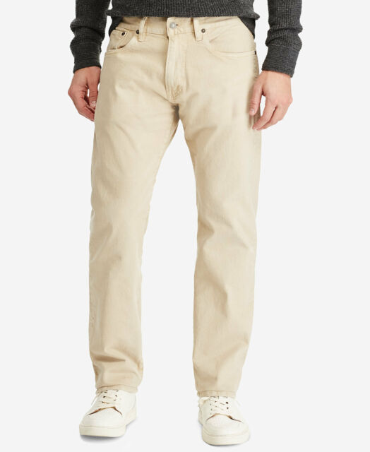 ef260735 Polo Ralph Lauren Mens Hampton Straight Fit Stretch Jeans Sz 35 X 30
