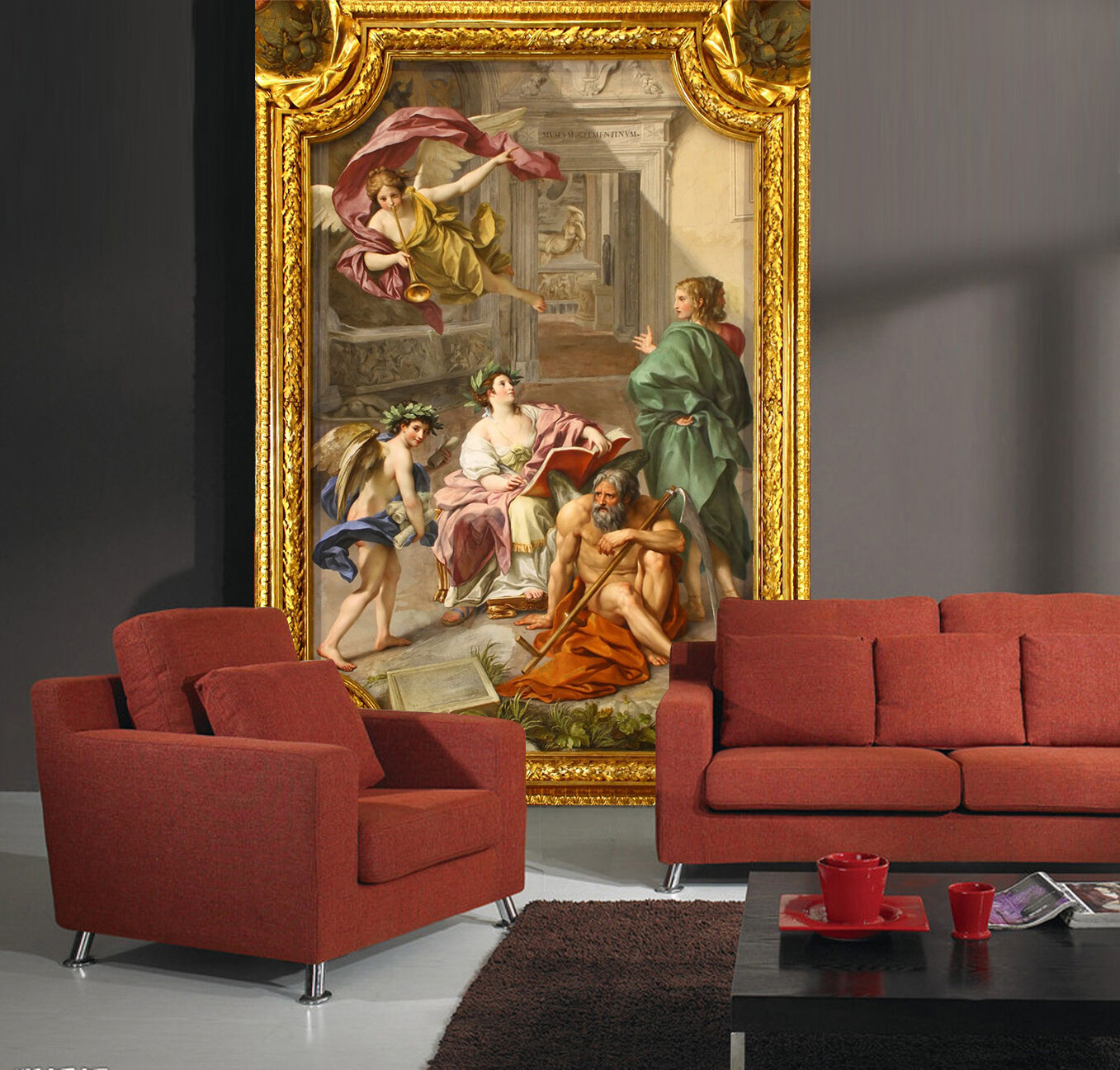 3D Ancient Times People 1579 Paper Wall Print Wall Decal Wall Deco Indoor Murals