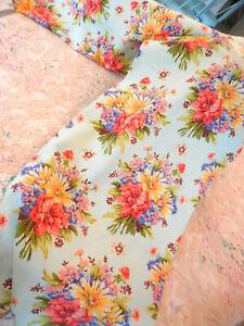 April Cornell ~ Set of 4 Coton Table Napkins ~ Gorgeous Friendship Floral