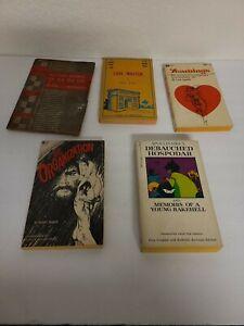 Lot-Of-5-Vintage-Sleaze-GGA-Paperback-Books-Pulp-Erotica-Rare-OOP