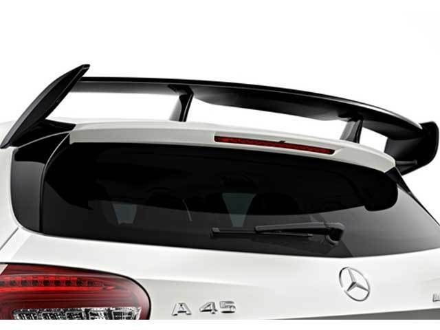 Mercedes W176 A Class AMG A45 Rear Wing Roof Spoiler AMG GENUINE OEM