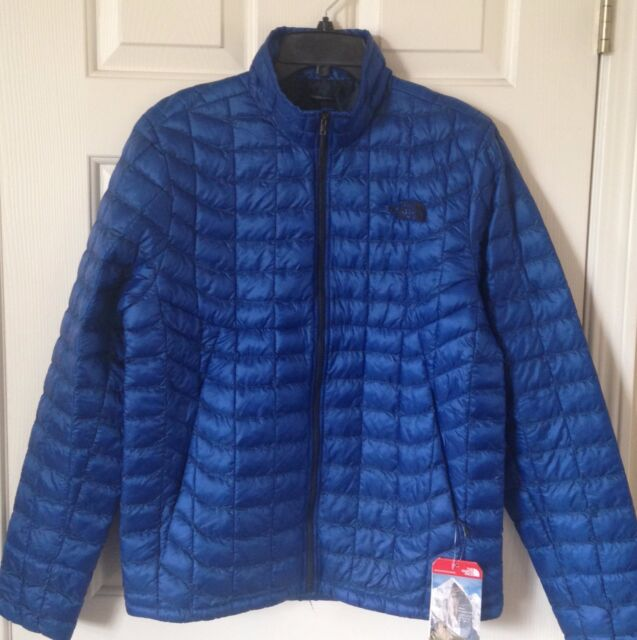 28c513eaf $199 NWT Mens The North Face Thermoball Full Zip Jacket Monster Blue Black  XXL