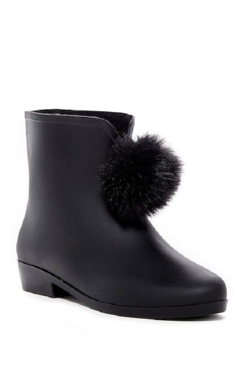 WOMEN'S DIZZY *PICABOW*  RAIN BOOT  COLOR~BLACK   SIZE 8
