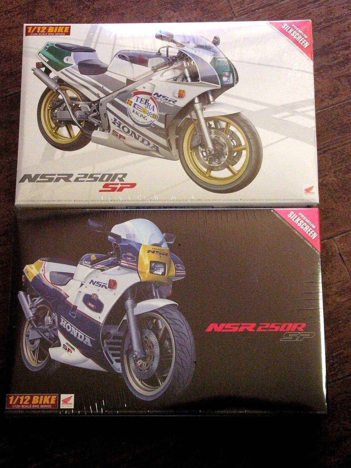 Lot of 2   Aoshima 1 12  Honda NSR 250RR SP                      FREE SHIPPING
