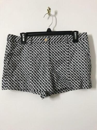 e corti nero Pantaloncini Alame Von 8 Diane motivo Sz con Furstenberg bianco qYfTnwv
