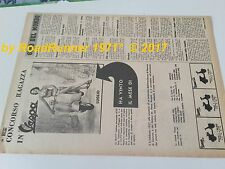 mod. VESPA Piaggio_pubblicità originale del 1957_advertising_werbung_publicitè