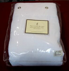 New Mip Pottery Barn 100 Cotton Shower Curtain 72x72