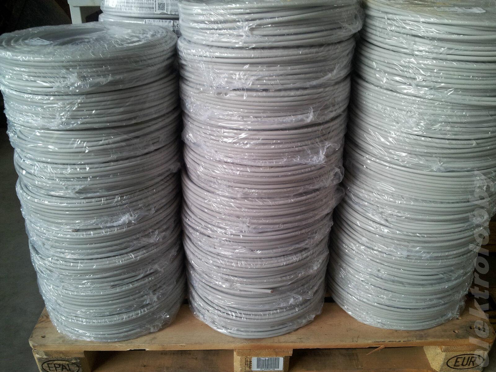 (  m) NYM-J 5x2,5 mm² Mantelleitung Kabel 50m Bund   100m Bund - Auswahl