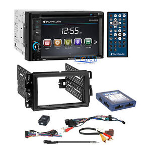 Planet Audio CD USB SD Bluetooth Car Stereo GM Dash Kit OnStar Bose SWC  Harness | eBayeBay