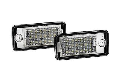 2x LED SMD License Plate Number Lights Audi A3 8P1 Hatchback CB S3