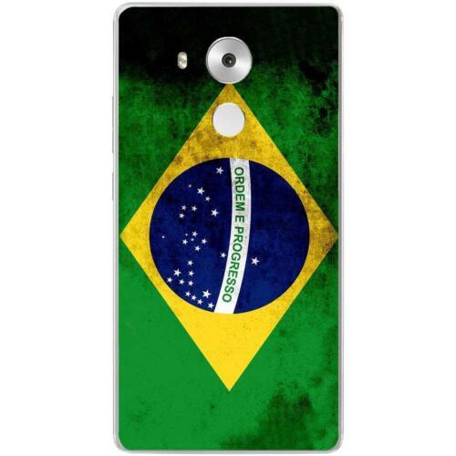 Drapeau Brésil Coque Housse Etui Huawei Mate 8 à motif Silicone Gel qualité FR
