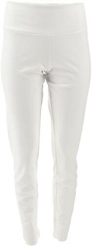 Women with Control Tummy Control Ankle Pants White XXS NEW A286518