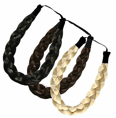 Chunky Headband High Quality Plaited Headband Braided Headband - In 14 Colors Spezieller Kauf