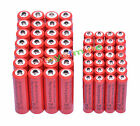 28 AA 3000mAh + 28 AAA 1800mAh 1.2V NI-MH Rechargeable Battery 2A 3A Red Cell