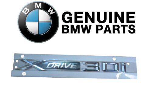 Driver Left Or Passenger Right Emblem Label Genuine For BMW E70 X5 X3 xDrive30i