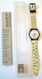 86f92de6b59 Relógio Swatch Aohna 2004 Jogos Olímpicos Esportes GN206 Raro ...