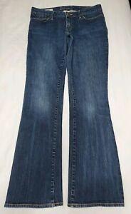 Banana-Republic-Women-039-s-Dark-Wash-Urban-Bootcut-Denim-Jeans-Size-8