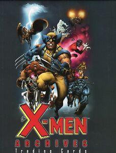 X-Men-Archives-Card-Album