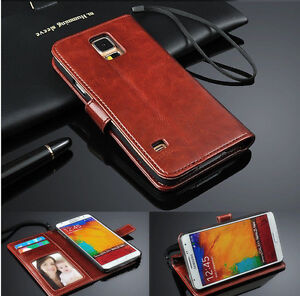 Genuine-Leather-PhotoFlip-Wallet-Phone-Case-Cover-For-Samsung-Note3-4-5-8-9-amp-Edge