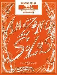 Amazing Solos Harrison Viola & Keyboard