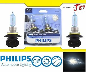 Philips-CrystalVision-Ultra-9012-HIR2-55W-Two-Bulbs-Head-Light-Dual-Beam-Replace