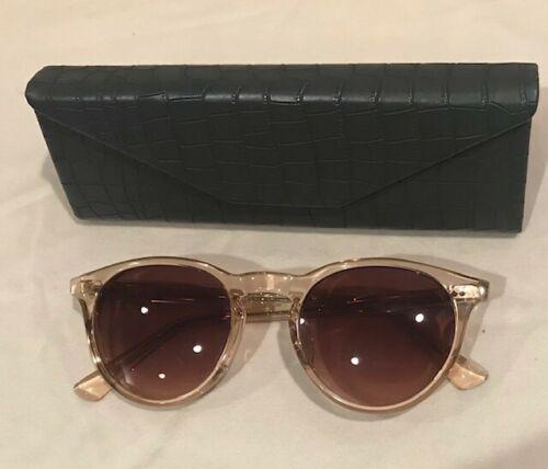 Sama Francesco Sunglasses Eyeglasses With Case Blu