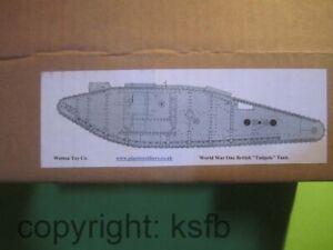 1-32-Weston-Toys-WKI-England-englischer-Tadpole-Panzer-Kunststoff-Fertigmodell