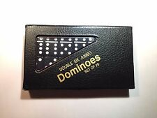 Double Six Jumbo Black Dominoes w/ FREE Shipping