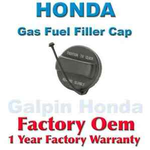 genuine oem honda gas fuel filler cap 17670 t3w a01 ebay. Black Bedroom Furniture Sets. Home Design Ideas