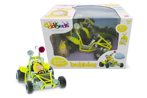 Oddbods Action Vehicle Set BUBBLES RARE NEW in Box Worldwide Shipping