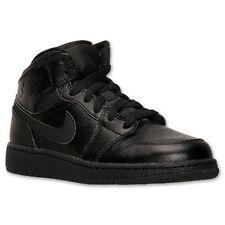 info for 983fc dd97a item 1 554725-030 Nike Air Jordan Retro 1 (GS) Black Black Sizes 4-7 New In  Box -554725-030 Nike Air Jordan Retro 1 (GS) Black Black Sizes 4-7 New In  Box