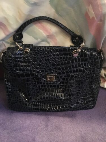 Satchel Nine Cocodrilo West Nwt Blue pHAqPH8