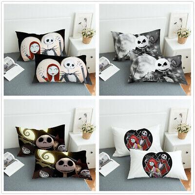 3D Disney Mickey Minnie Pillow Shams Pillowcase Envelope Pillow Cover Set White