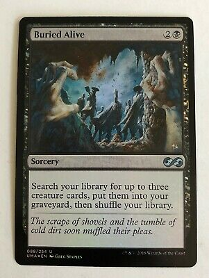Foil x1 Magic the Gathering 1x Ultimate Masters mtg card Buried Alive