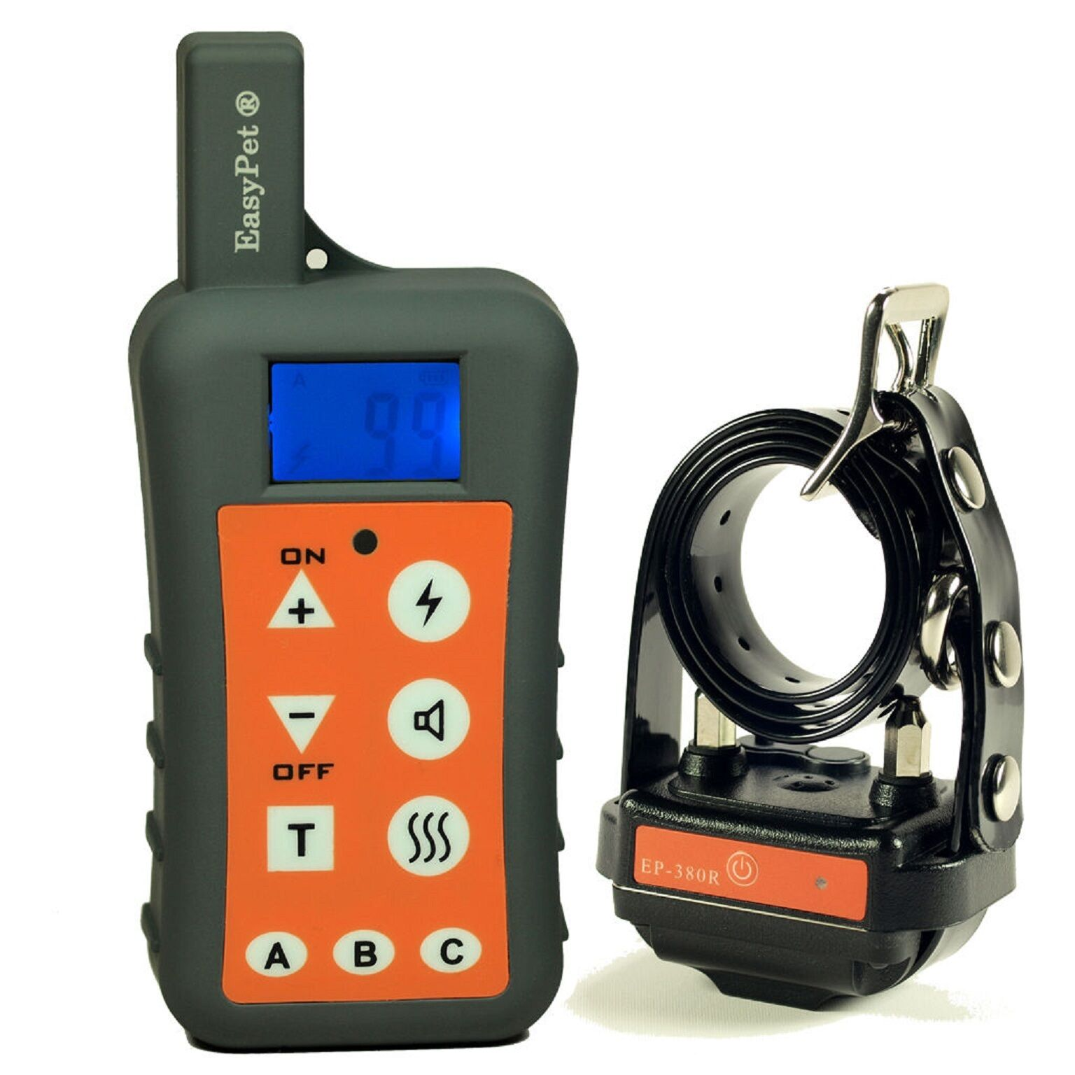 NEW VERSION EASYPET1200M Remote Waterproof Rechargeable Dog Pet Training Collar