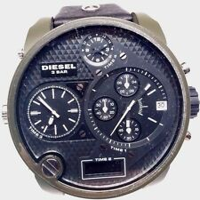 Diesel Men's SBA Oversized Big Daddy Watch DZ7250 Time 2 Needs Repair