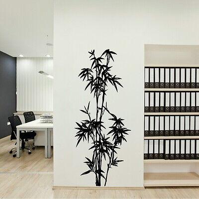 Chinese Bamboo Tree Wall Sticker / Large Art Decor / Big Tree Wall Transfer CH2