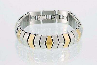 "Design /""Fantasyarmband/"" Armband Damen Bicolor Edelstahl"