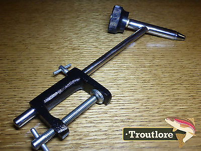Fly Tying Fishing Black Crown Vise Tools Vice Flat Base Export Quality