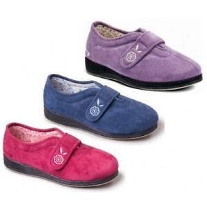 4832ccbb4312 Image is loading Padders-CAMILLA-Ladies-Soft-Comfort-Extra-Wide-Fit-