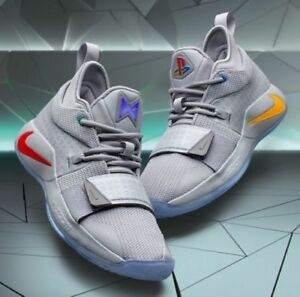 online store 9ebba 1ce63 Details about Nike P. George PG 2.5 x PLAYSTATION Wolf Grey BQ8388-001 PG2  Play Station SZ. 11