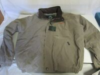 Men's Weatherproof Jacket Coat With Canadian Northern Cn Advertising Sz L