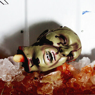 Halloween Bloody Severed Head Body Part Life Size Haunted Decoration Prop House