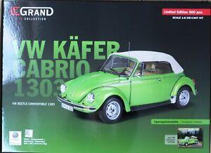1 8 Legrand VW Käfer 1303 Convertible Yellow