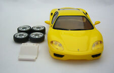 USED Unboxed : Kyosho Mini Z ASC Body Ferrari 360 Modena Yellow