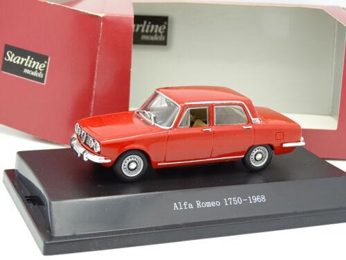 Starline 1//43 Alfa Romeo 1750 1968 Rouge